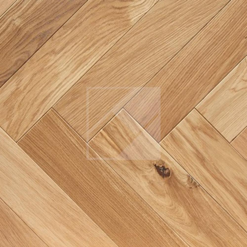 Engineered Oak Rustic Brushed & Oiled - 20 x 100 x 500