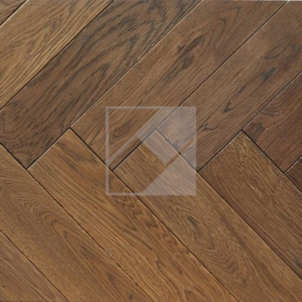 Engineered Oak Dark Brown Oiled - 20 x 100 x 500