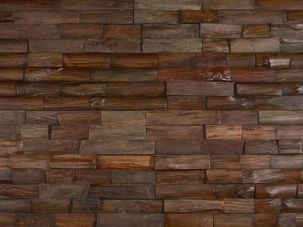 BOURBON - Teak - Distressed & Brushed Natural Oiled
