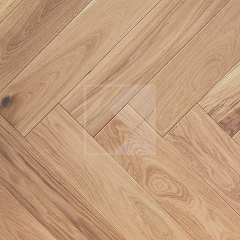 Engineered Oak Rustic Smooth White Oiled