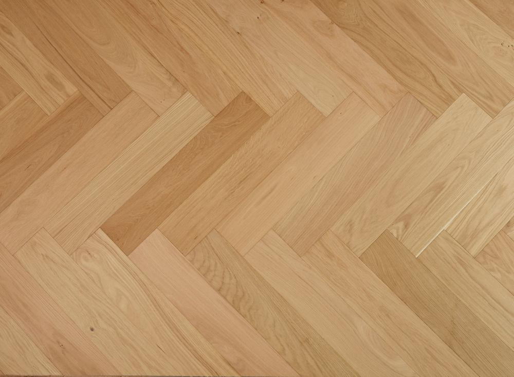 Engineered Oak Select Grade Raw Matt Lacquered