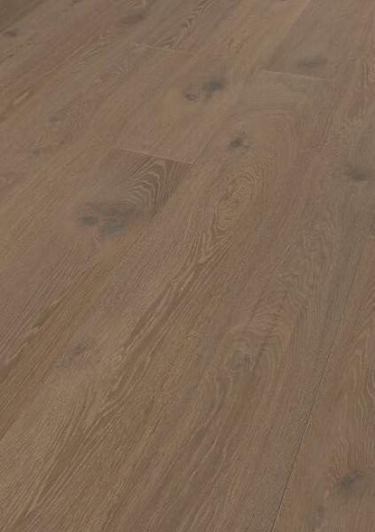 Engineered Smoked Oak Brushed/Antique Effect