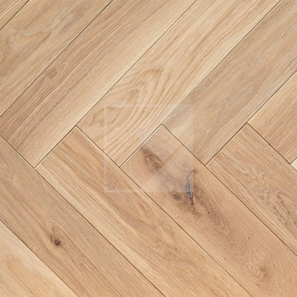 Engineered Oak Rustic Brushed & White Oiled