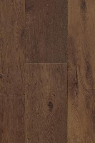Engineered Smoked Oak Brushed/Handscraped Oiled
